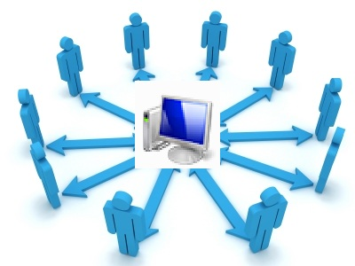 Block Internet Access over Network but allow Network Access / File & Print Sharing in Windows 8 , 7 , Vista , XP