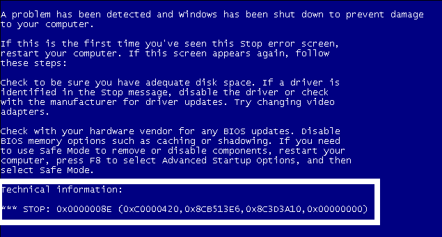 What to Know & do about BSOD ( Blue Screen ) (Black Screen) errors