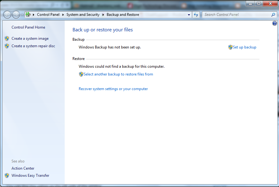 Creating Windows 7 Repair Disc