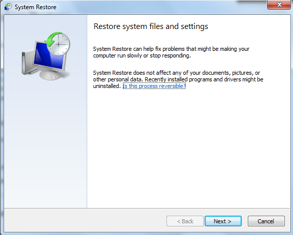 How to use System Restore