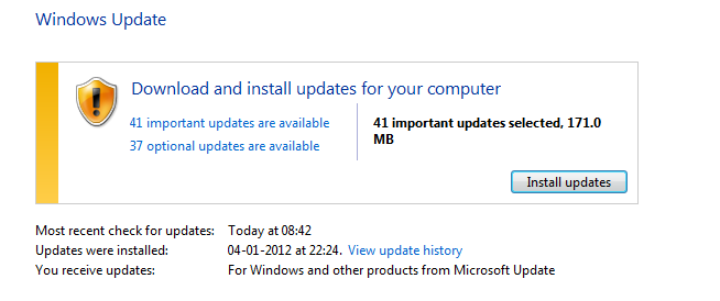 FIX : Windows Update stuck at an old date, not updating, updating but not reflecting as updated