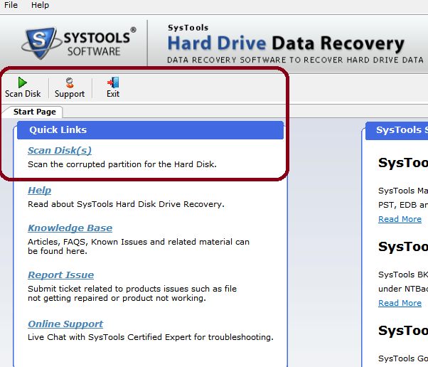 Review : Systools Hard Drive Data Recovery for Windows
