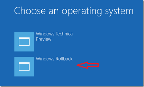 How to remove | rollback Windows 10 preview