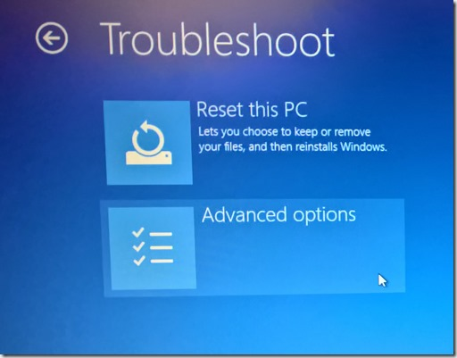 Fix: Your PC did not start correctly Windows 10